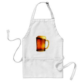 Taza de cerveza delantales