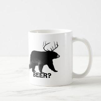 Taza de cerveza divertida