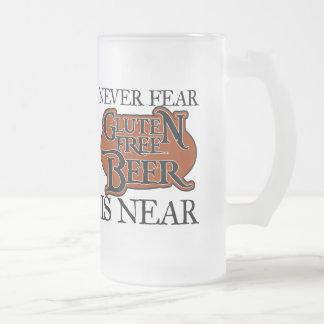 Taza de cerveza libre del gluten