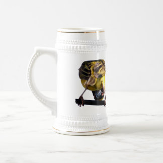 Taza de cerveza linda de Stein del chirrido