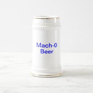 Taza de cerveza Mach-0