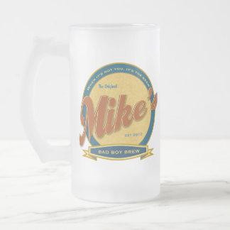 Taza de cerveza personalizada Brew del chico malo