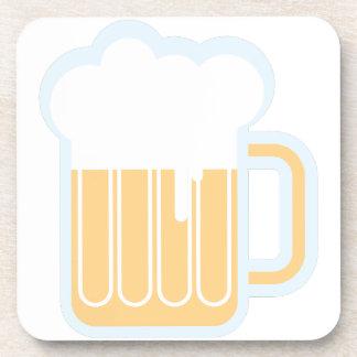 Taza de cerveza posavasos de bebidas