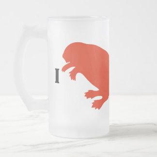 Taza de cerveza roja del castor del día de Canadá