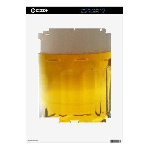 Taza de cerveza skins para iPad 2