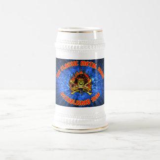 Taza de cerveza tradicional de CMS