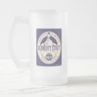 Taza de cerveza valiente de Schmitty