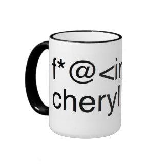 Taza de Cheryl