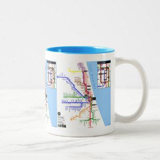 Taza de Chicago del subterráneo
