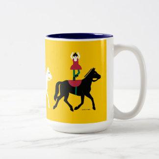 Taza de Cirque de Martzkins Horses