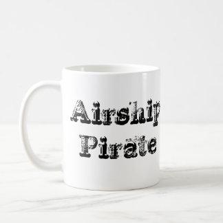 Taza de Cofee del pirata del dirigible del