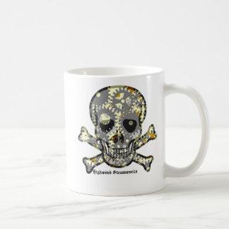 Taza de Cofee del pirata del dirigible del mecanis