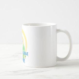 Taza de Coffe de la energía renovable