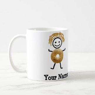 Taza de Coffe del niño del panecillo