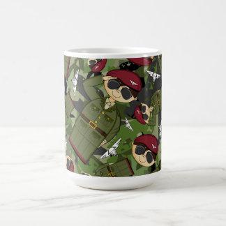 Taza de Coffe del soldado del ejército británico