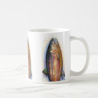 Taza de color salmón