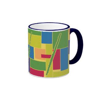 Taza de Colorblocks de la flauta
