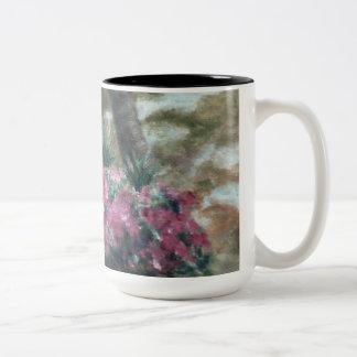 Taza de conexión en cascada de las flores