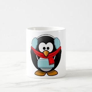Taza de congelación del pingüino