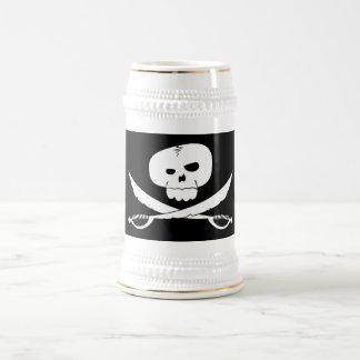 Taza de consumición del pirata enojado