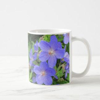 Taza de consumición púrpura de la flor 11oz