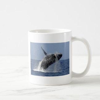 Taza de Coofee de la ballena jorobada