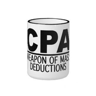 Taza de CPA - elija el estilo y el color