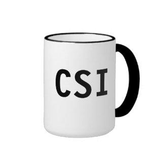 Taza de CSI
