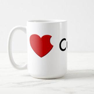 taza de Cupertino del iLove