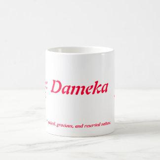 Taza de Dameka