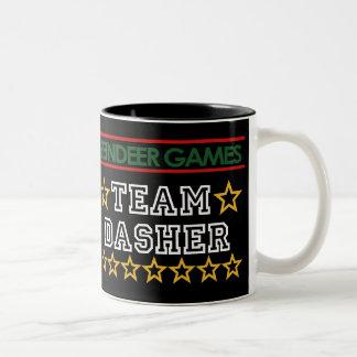 Taza de Dasher del equipo