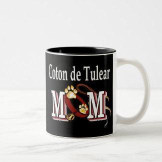 Taza de De Tulear Mom del algodón