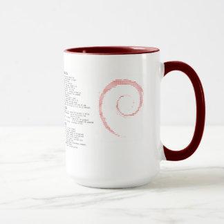 Taza de Debian