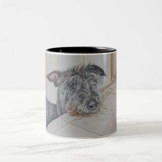 Taza de Deerhound del escocés