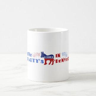 Taza de Denver Colorado del convenio de DNC