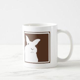 Taza de desaprobación de los conejos de Brown