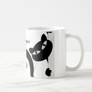 """Taza de desayuno con logo """"Buenos Días"""""""