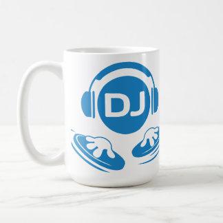 ¡Taza de DJ para DJ! Taza Básica Blanca
