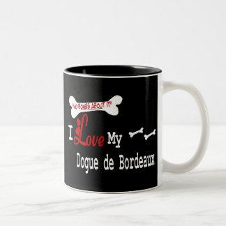 Taza de Dogue De Bordeaux (amor de I)