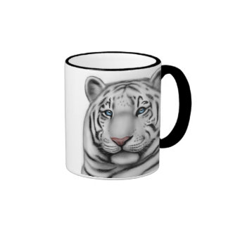 Taza de dos diversa tigres