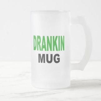 Taza de Drankin, taza de consumición con un acento