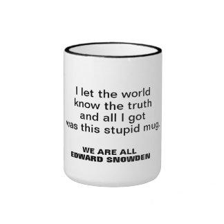 Taza de Edward Snowden