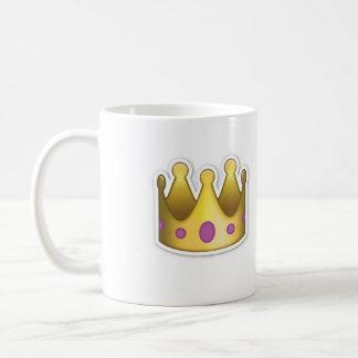 Taza de Emoji de la corona
