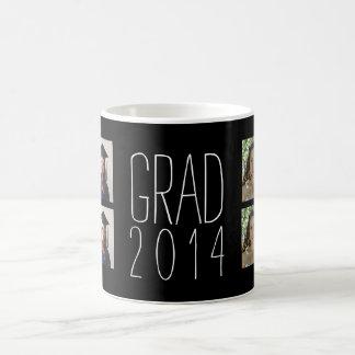Taza de encargo de la graduación con 8 fotos del
