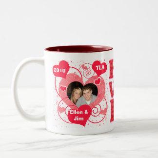 Taza de encargo del el día de San Valentín