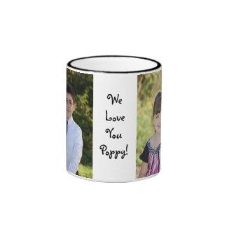 Taza de encargo del regalo de la foto del KRW con