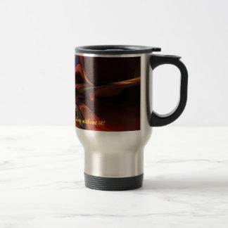 Taza de encargo del viaje del café