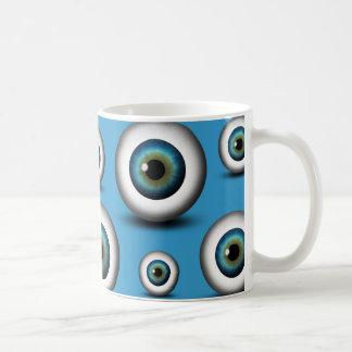 Taza de encargo fresca del globo del ojo del iris