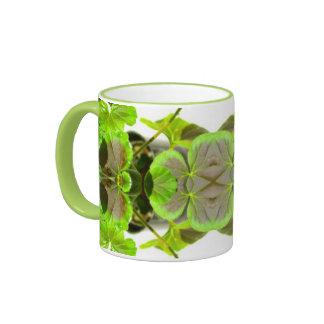 Taza de encargo verde