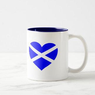 Taza de Escocia del amor